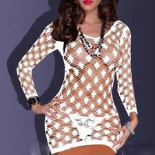 Sexy Women Fishnet Lingerie Dress Bodystocking Underwear Babydoll Sleepwear w041