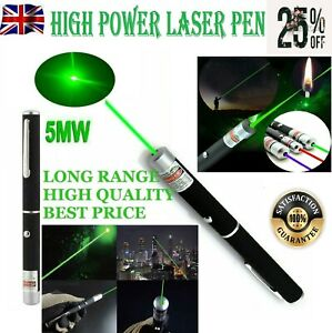 🔥 LASER POINTER PEN BEAM LIGHT VISIBLE LAZER GREEN STRONG 900meter PROFESSIONAL