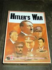 Avalon Hill - Hitler's War -Three Set Game - Charles Crain Collection (UNPUNCHD)