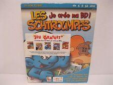Brand New Sealed Rare French Smurfs CD Rom PC/Mac Game