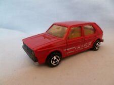 AI697 MAJORETTE VW VOLKSWAGEN GOLF 1/60 REF 210
