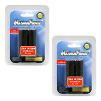 2x Battery Battery for Canon LP-E6, LP-E6N and Canon EOS 5D Mark II