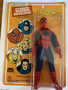 Mego Spider-man 1978 French Version Red Body