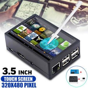 Für Raspberry Pi 4B 480 320 3.5'' TFT LCD Touchscreen Display Bildschirm Hülle