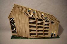 Shel 00004000 Ia'S 1997 Amish Barn Raising Artist Proof Signed Nib Ams09 Ltd Ed (a618)