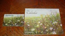 2021 HANNA BOYS CENTER WALL CALENDAR WITH POCKET CALENDAR, FLOWERS, NEW