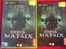 ENTER THE MATRIX XBOX ENTER THE MATRIX XBOX XBOX 360