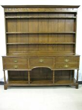 Dramatic Oak Cupboard / Welsh Dresser by John Widdicomb; Near Mint