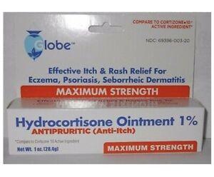 Hydrocortisone without aloe vera 1oz,UK STOCK, AUTHORISED SELLER