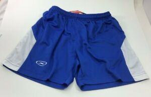 Xara Blue Soccer Shorts Womens Youth Large NEW BB3