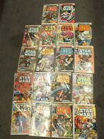Marvel Star Wars lot of 18 Comic Book Set Collection - MH078