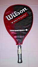 Wilson Triton Racquetball Aluminum High Power Racquet Ball X-Sm w/ Case New Nwt