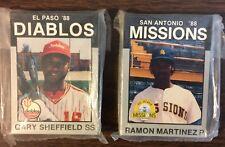 1988 Best EL PASO DIABLOS-Brewers Minor League PLATINUM Team Set B2018213