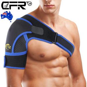 Adjustable Shoulder Brace Support Strap Compression Bandage Sports Arthritis CFR