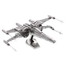 Disney Store Star Wars Force Awakens 3D Model Kit X-Wing Fighter Metal Figure