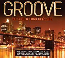 Groove 60 Soul & Funk Classics - CD Compilation