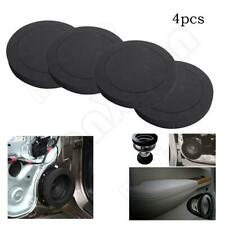 "4Pcs 6.5"" Car Door Speaker Ring Bass Audio Speakers Sound Insulation Ring Trim"
