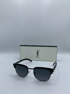 New Authentic Yves Saint Laurent Black Sunglasses: SL 5 2QPHD