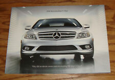 Original 2008 Mercedes-Benz C Class Deluxe Sales Brochure 08 300 350