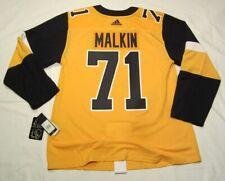 EVGENI MALKIN sz 46 Small Pittsburgh Penguins 3rd style ADIDAS Jersey PRO CUSTOM