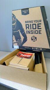 NEW SARIS M2 Smart Trainer Indoor bike training.