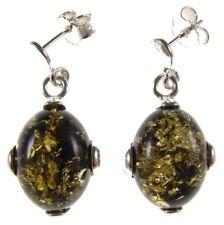 Pendientes de joyería con gemas naturales de ámbar