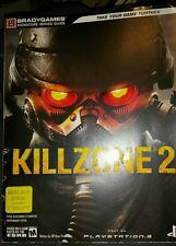 Killzone 2 II - Bradygames Official Strategy Guide - PS3 - WITH POSTER!