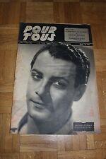 Film pour Tous N°10 - 18 Juin 1946 - Guétary Claude Dauphin Cinéma Français