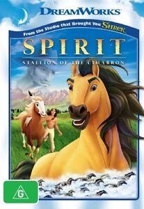 Spirit: Stallion Of The Cimarron DVD (PAL, 2008) VGC, FREE POST