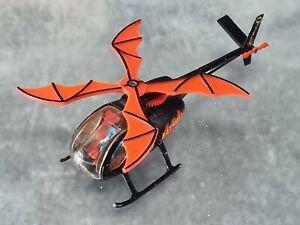 Corgi No. 925 Batcopter with Batman Figure Vintage Good Condition 1976.