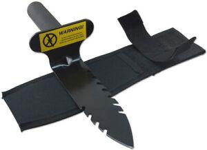 12 Serrated Edge Carbon Steel Spade Garden Detector Digger Tool