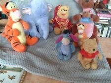 famille winnie l'ourson lot  de 7 peluches disney occasion