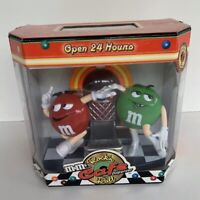 Collector Rare M&M's Rock'n Roll Cafe Jukebox Candy Dispenser First Edition