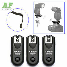 3pcs Yongnuo RF-603C II Wireless Remote Flash Trigger for Canon EOS 5D II 6D 7D