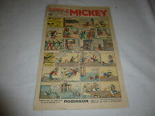 LE JOURNAL DE MICKEY N°134 MAI  1937  BE