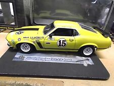 FORD Mustang Coupe Boss V8 302 Racing #15 Follmer Muscle TransAm GMP Welly 1:18