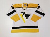 VINTAGE MEN'S STARTER PITTSBURGH PENGUINS NHL JERSEY JAROMIR JAGR HOCKEY SIZE L