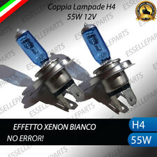 LAMPADE LAMPADINE H4 BLUE EFFETTO XENON BIANCO SUZUKI SPLASH ANAB + ABB