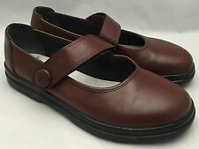 Rieker Antistress Brown Mary Janes Shoes Size 36 6? 6.5?