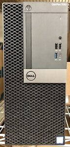Dell Optiplex 7050 MT Intel i7-6700 3.4GHz 16Gb RAM 256Gb HD Win 7 Office Prof