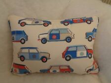 "POP CARS BY JANE CHURCHILL  OBLONG CUSHION 20"" X 14 ""(51 CM X 36 CM)"