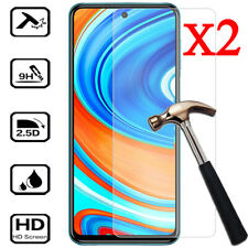 2X Tempered Glass Screen Protector For XiaoMi Redmi 9 8A 7A Note 9S 9 8 7 6 Pro