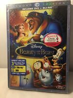 Disney Beauty and the Beast Diamond Edition / 3 Disc Combo Blu Ray DVD