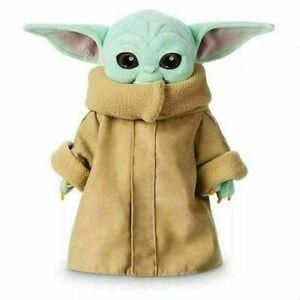 30cm baby Yoda plush toy wakes Master The Mandalorian Force Stuffed Doll Gift