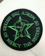 Sisters of Mercy Embroidered Patch IRON/SEW-ON The Cure Joy Division