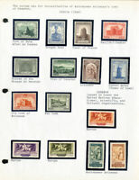 Worldwide Astronomy Mint Stamp Collection
