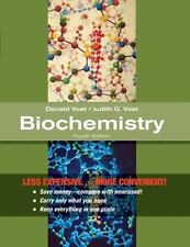 Biochemistry by Judith G. Voet and Donald Voet (2010, Ringbound)