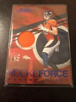 2016 Absolute Paxton Lynch #32 Rookie Force Patch Broncos