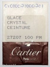 Genuine crystal CARTIER CEINTURE # 27207 100 PM watch parts. New old stock
