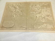 1819 Antique Map//POPULI & URBES (CITIES IN GRAECIA & THRACIA)/GREECE